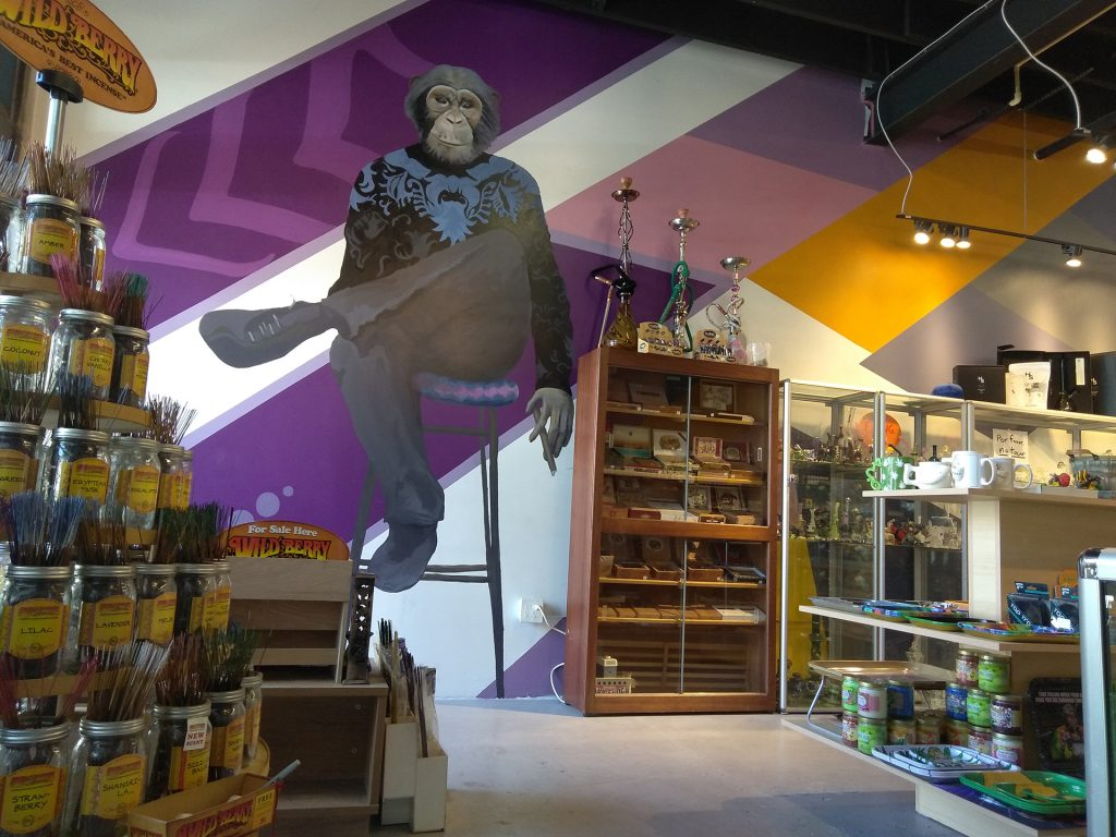 Slick Chimp Color Dreamers Mural