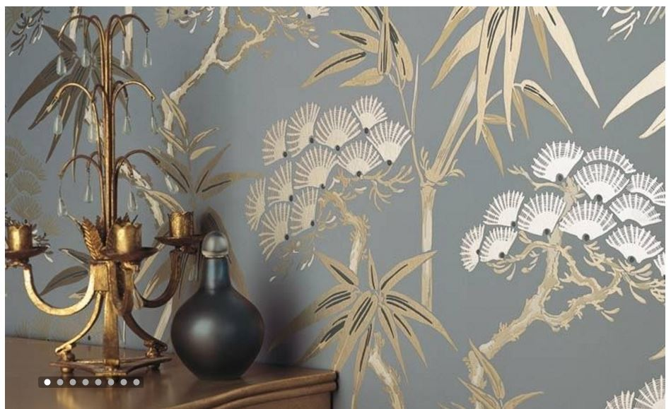 Chinoiserie murals the color dreamers for Chinoiserie wallpaper mural