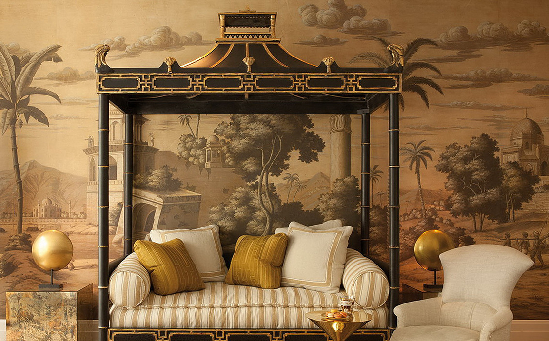 Chinoiserie murals the color dreamers for Chinoiserie wall mural