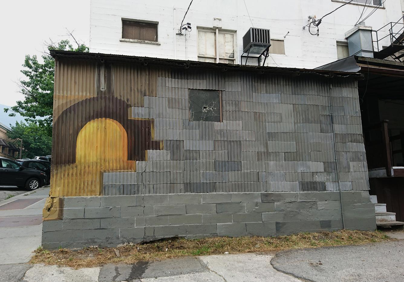 Wynwood Walls Color Dreamers Mural Aerial