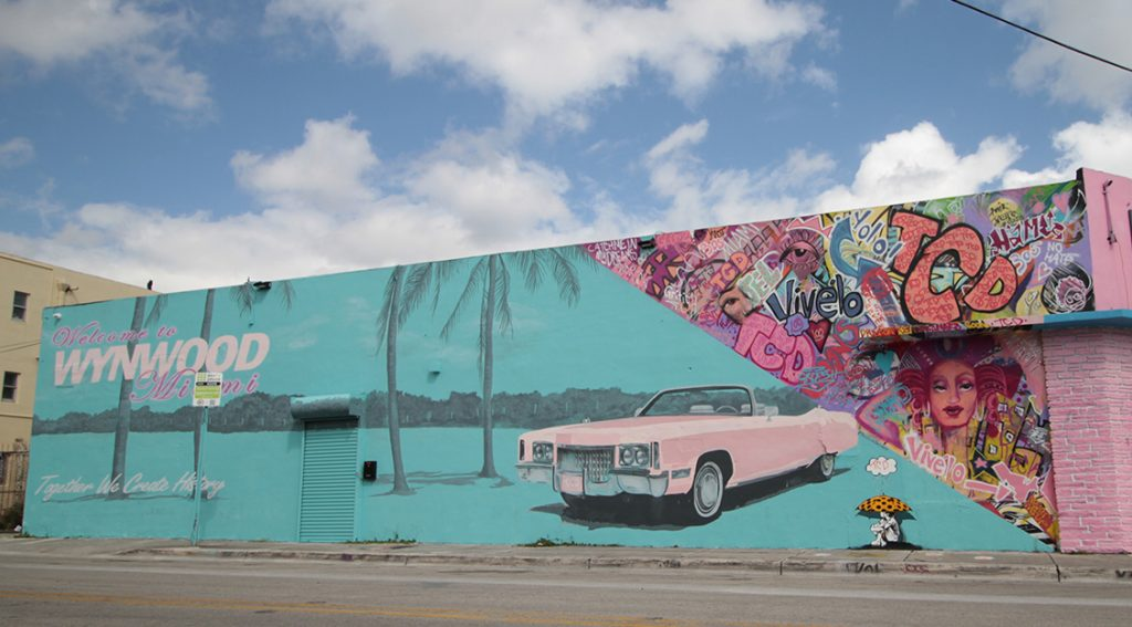 Color Dreamers Welcome to Wynwood Mural